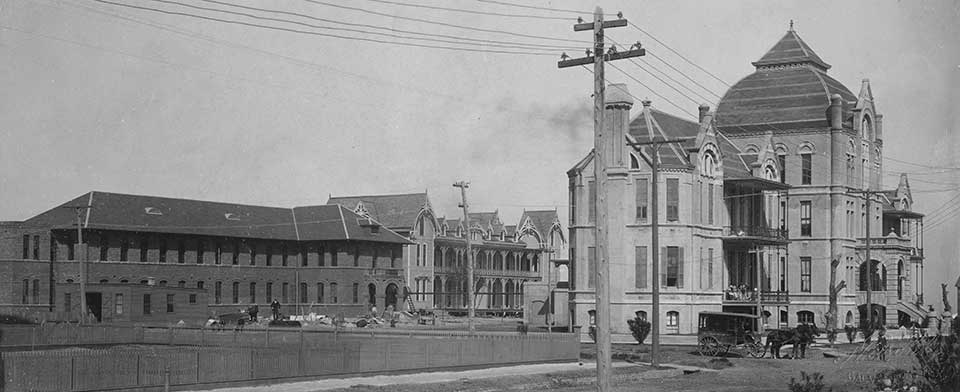 First African American Hospital in Galveston Texas