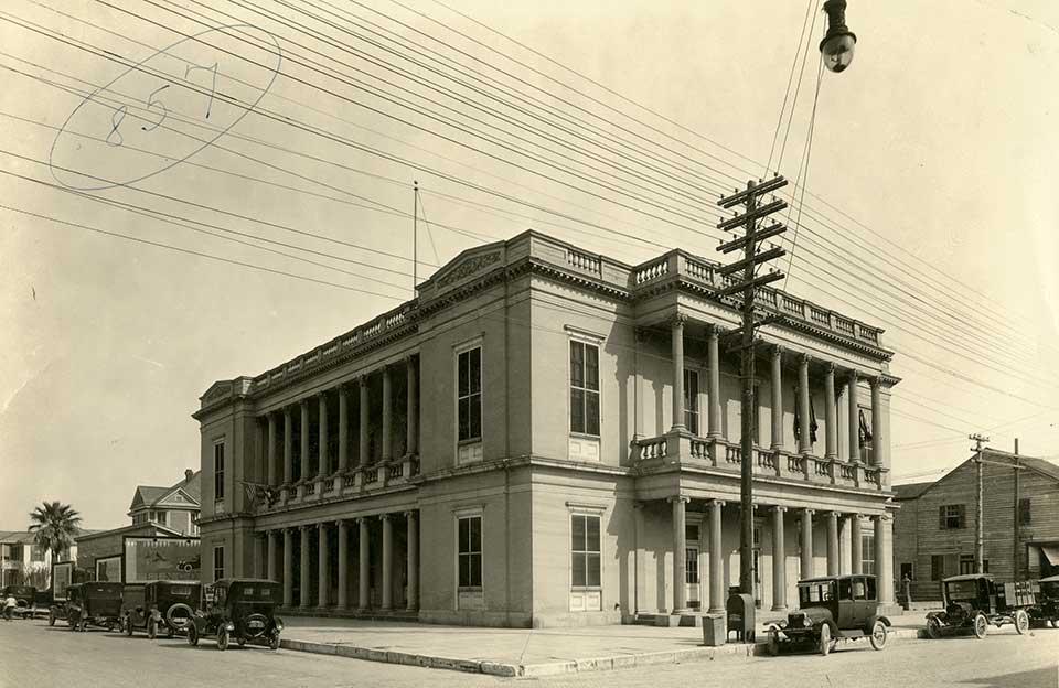 First Customs House Rosenberg Library