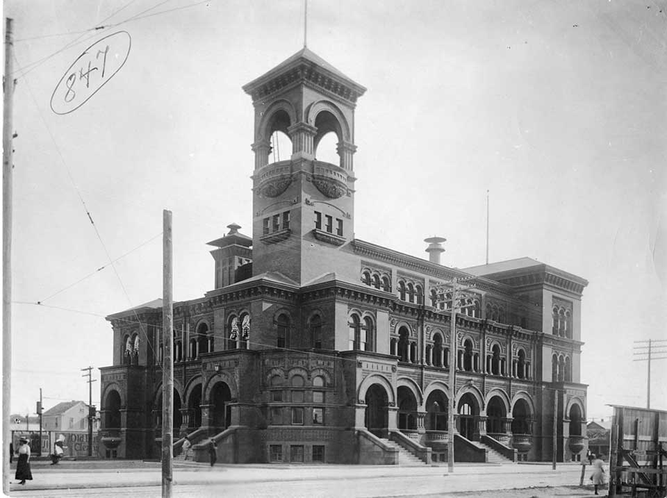 First Post Office in Galveston