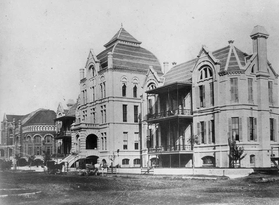 First School of Nurses in Galveston Texas