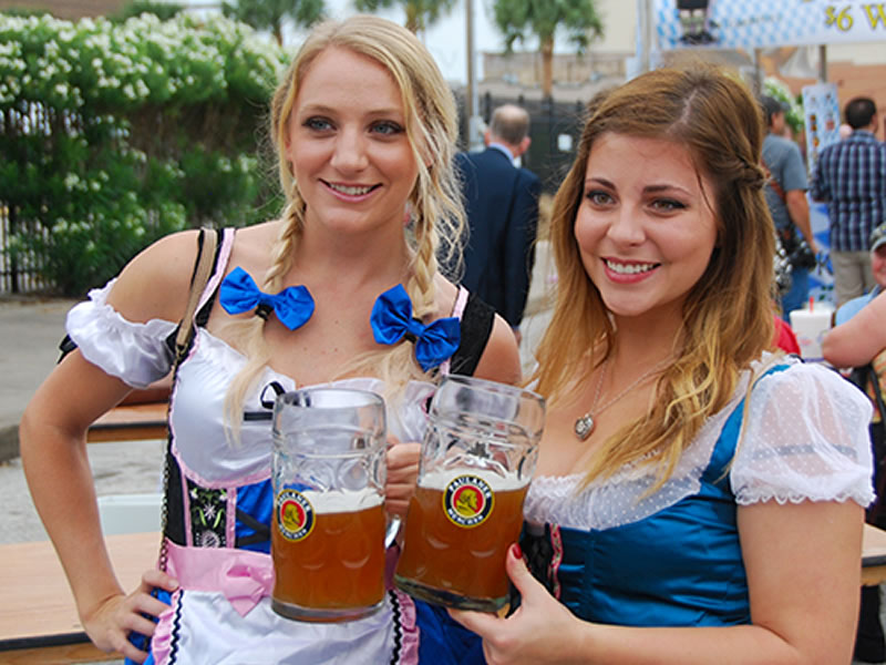 Girls at Octoberfest