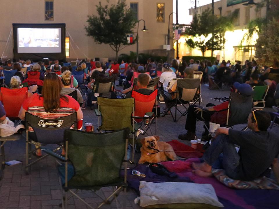 Movie Night at Saengerfest Park