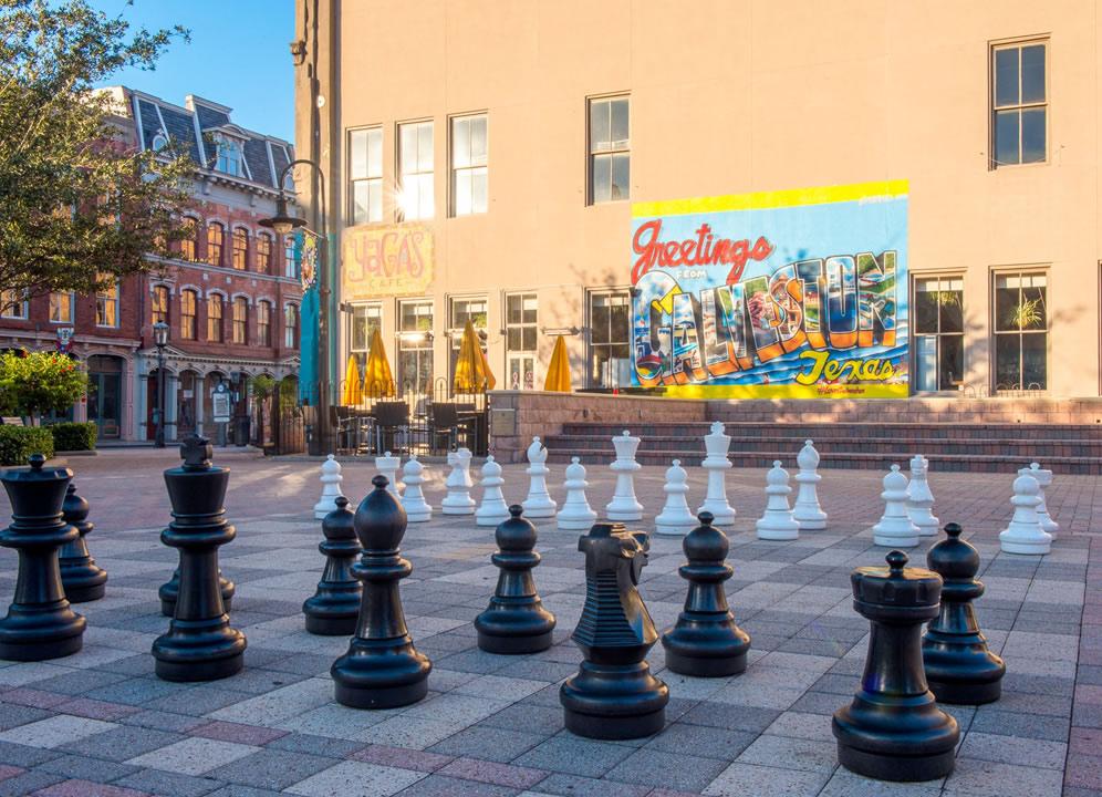 Saengerfest Park Chessboard Galveston