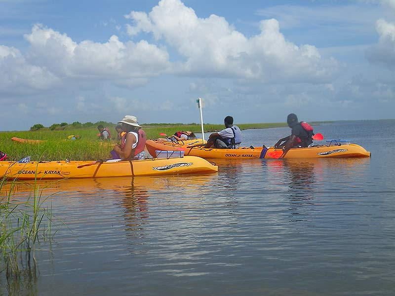 Artist Boat kayaking