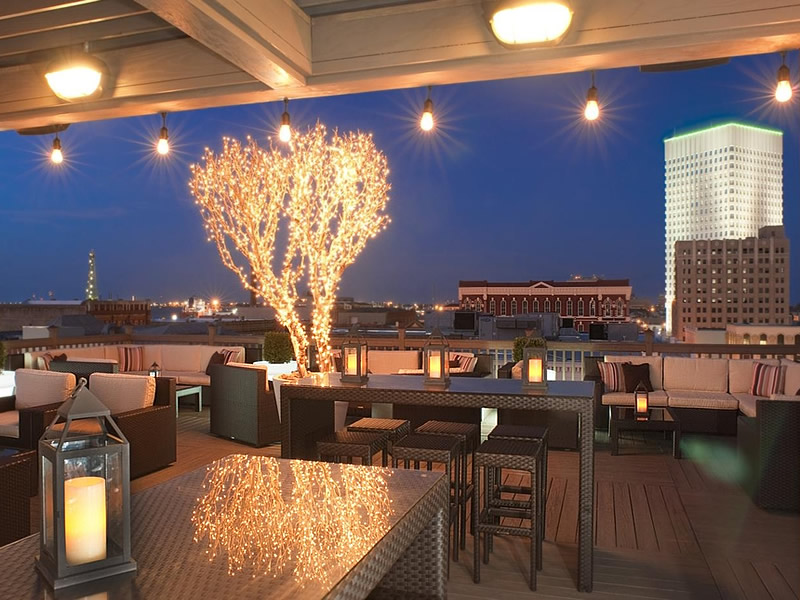 Rooftop Bar at The Tremont House