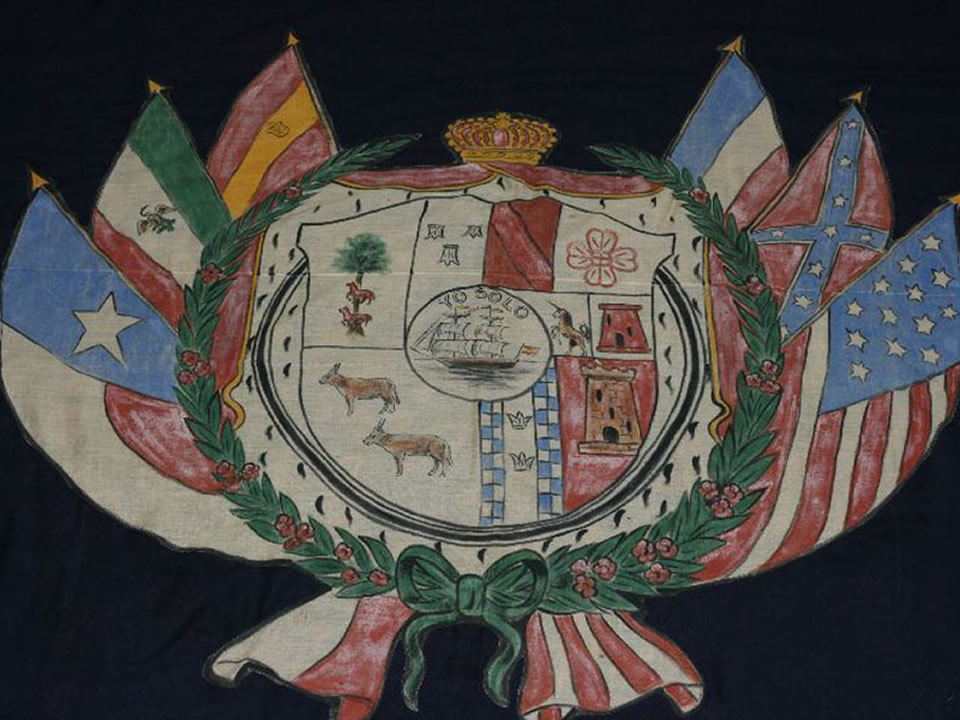 Rosenberg Treasure The Galveston Municipal Flag