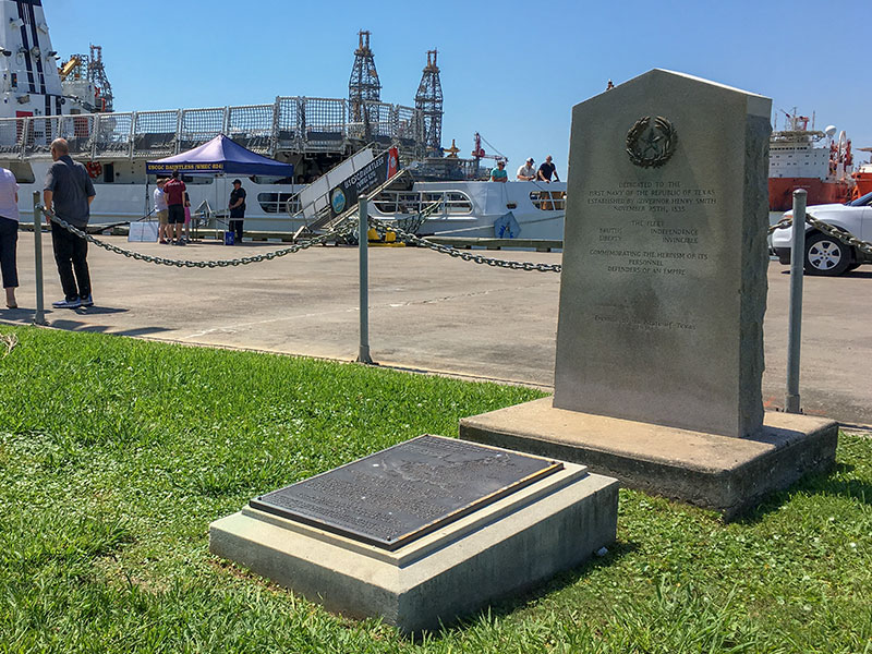 First Navy of the Republic of Texas Historical Marker