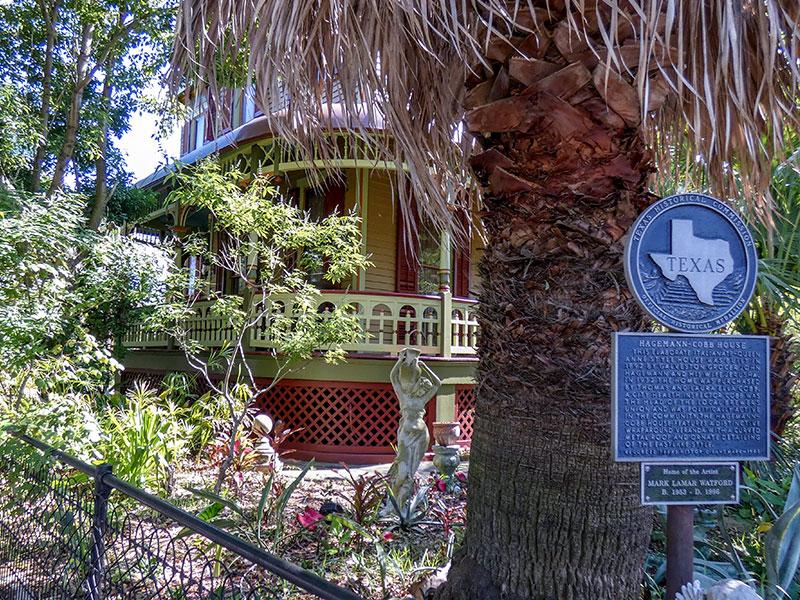 Hagemann Cobb House Historical Marker