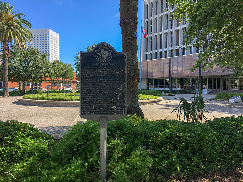 Norris Wright Cuney Historical Marker