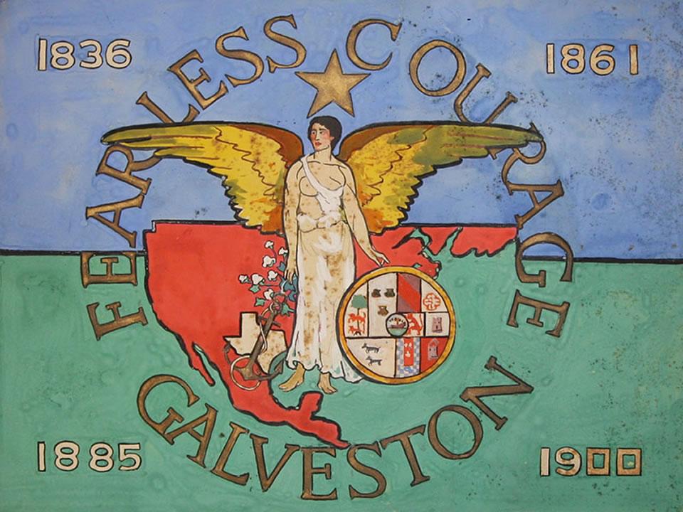 Percy Holt Design For the Galveston Municipal Flag