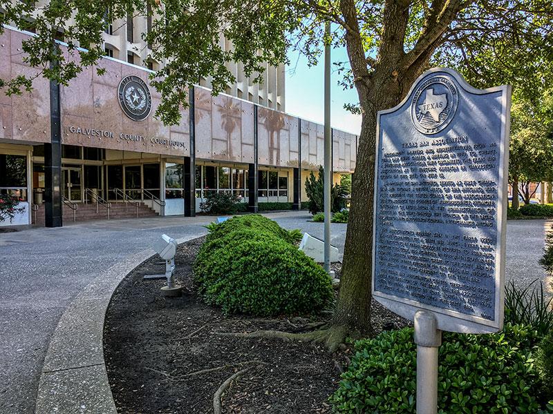 Texas Bar Association Historical Marker