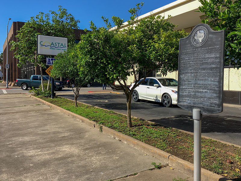 Texas Society Sons of the American Revolution Historical Marker