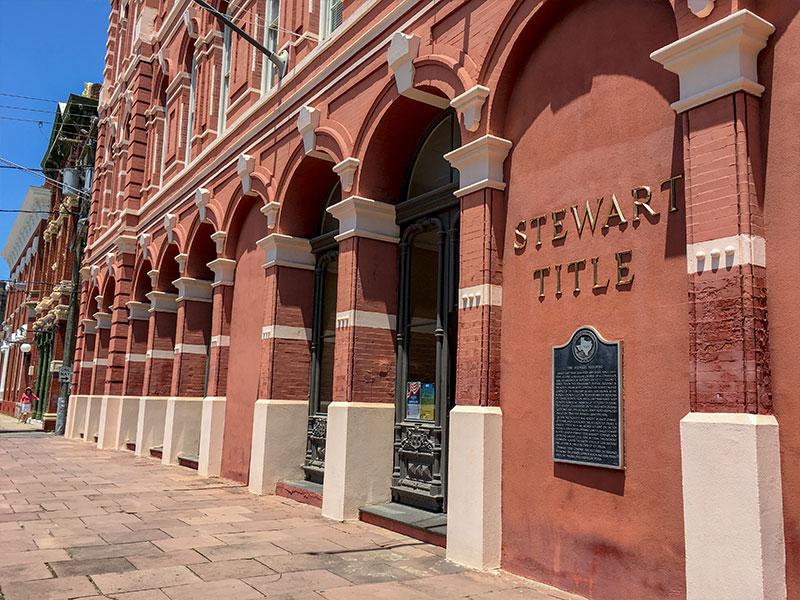The Stewart Building Historical Marker