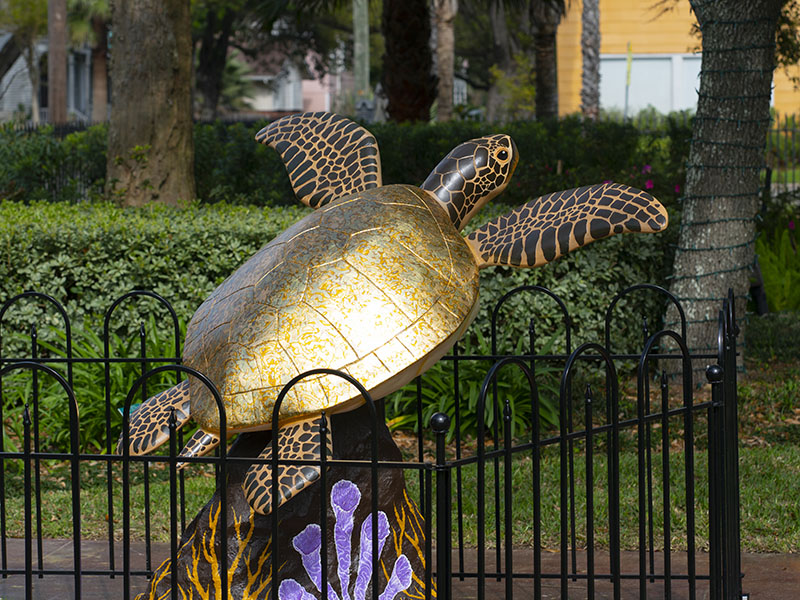 Dorado, Turtles About Town - The Bryan Museum