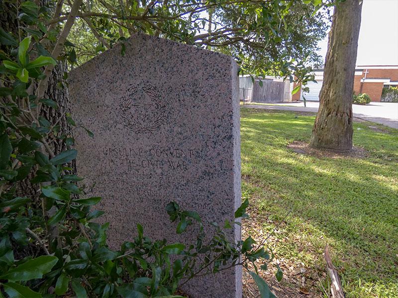 Ursuline Convent in the Civil War Historical Marker