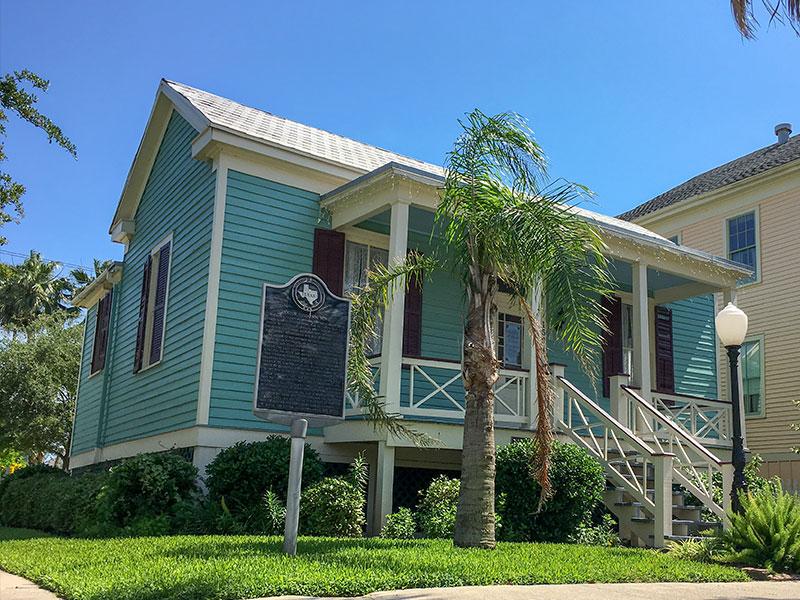 GALVESTON.COM: Historical Marker: Victor Gustafson Home - Galveston, TX