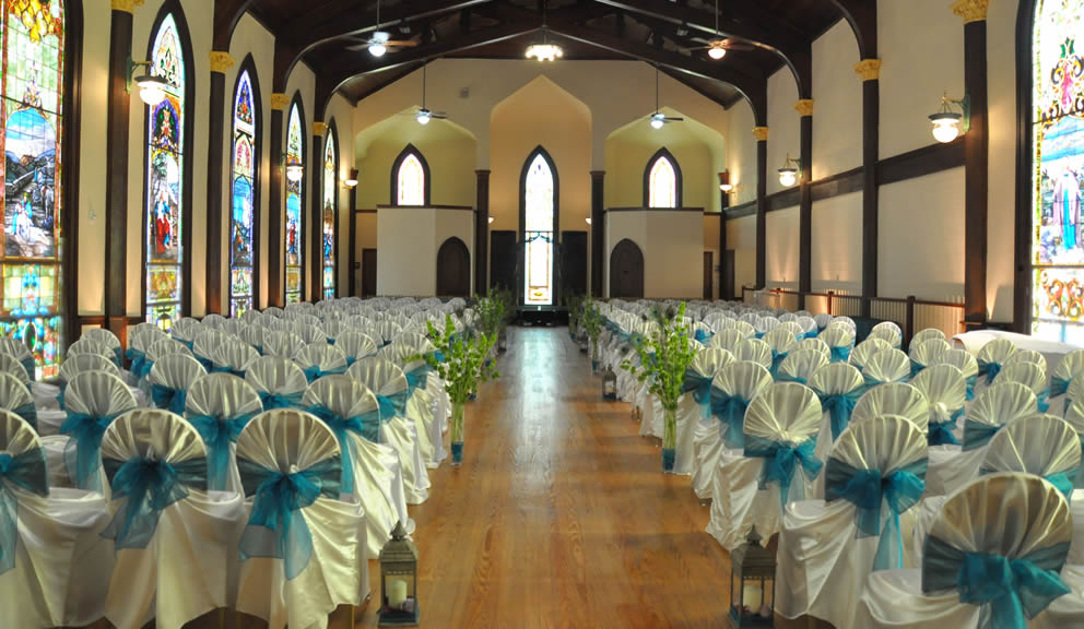 Seating for a Wedding at The Lyceum