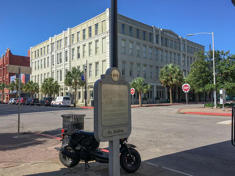 1858 Pix Building Historical Marker