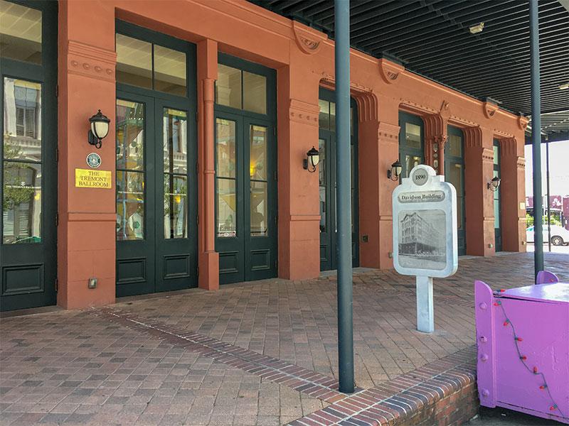 1890 Davidson Building Historical Marker