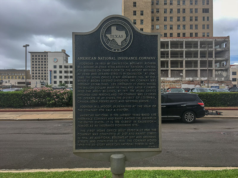 American National Insurance Company Historical Marker