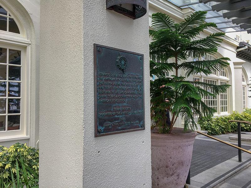 Bernardo de Galvez Historical Marker