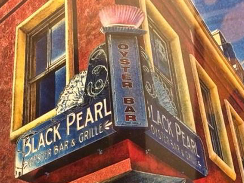 Exterior View of Black Pearl Oyster Bar & Grille