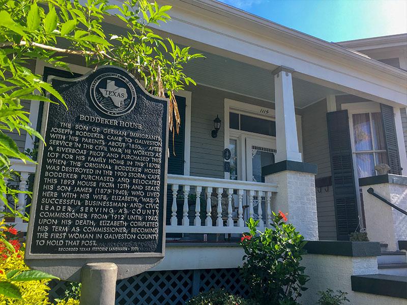 Boddeker House Historical Marker