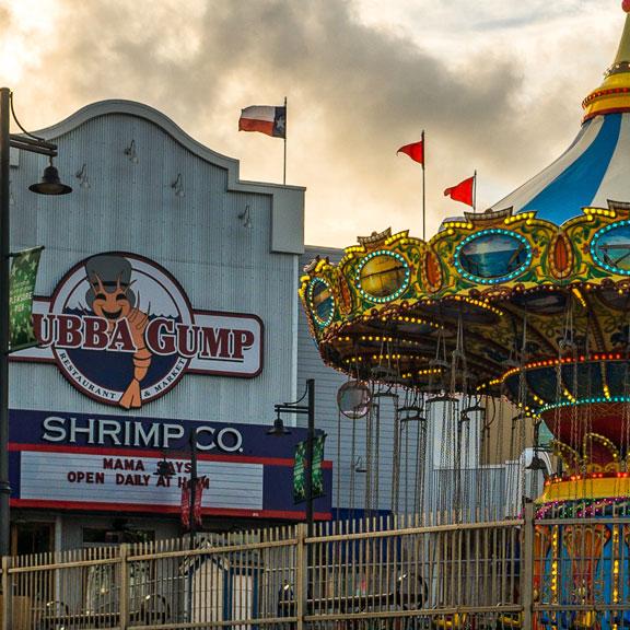 Bubba Gump Shrimp Co, Galveston TX