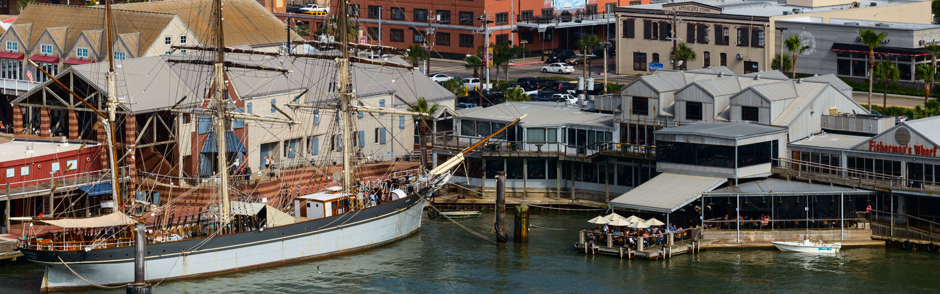 Fisherman's Wharf, Galveston TX
