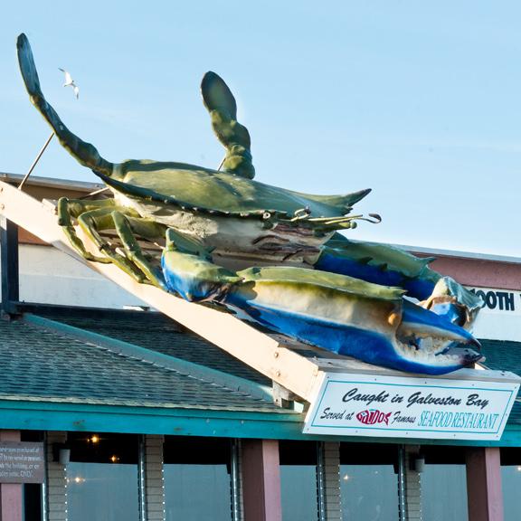 Gaido's Seafood Restaurant, Galveston TX