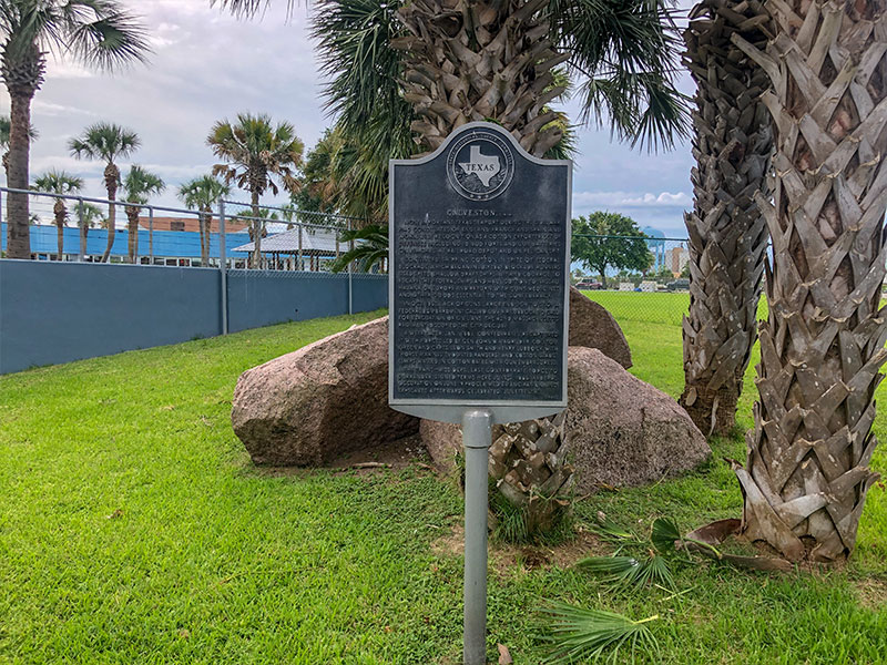 Galveston CSA Historical Marker