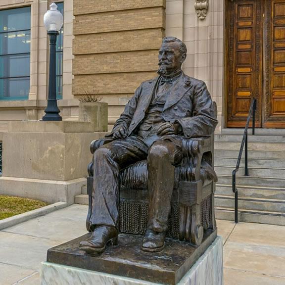 Statue of Henry Rosenberg