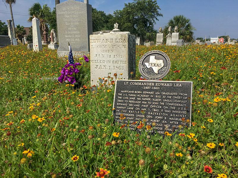 Lt. Commander Edward Lea Historical Marker