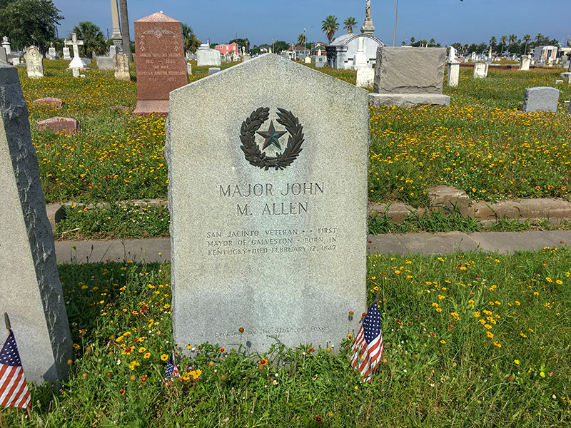Major John M. Allen Historical Marker