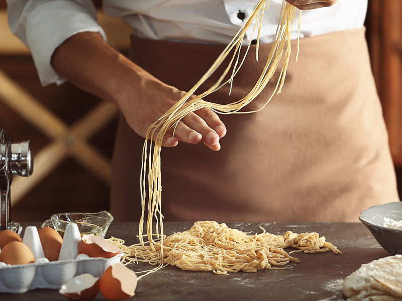 Making Homemade Pasta from Scratch