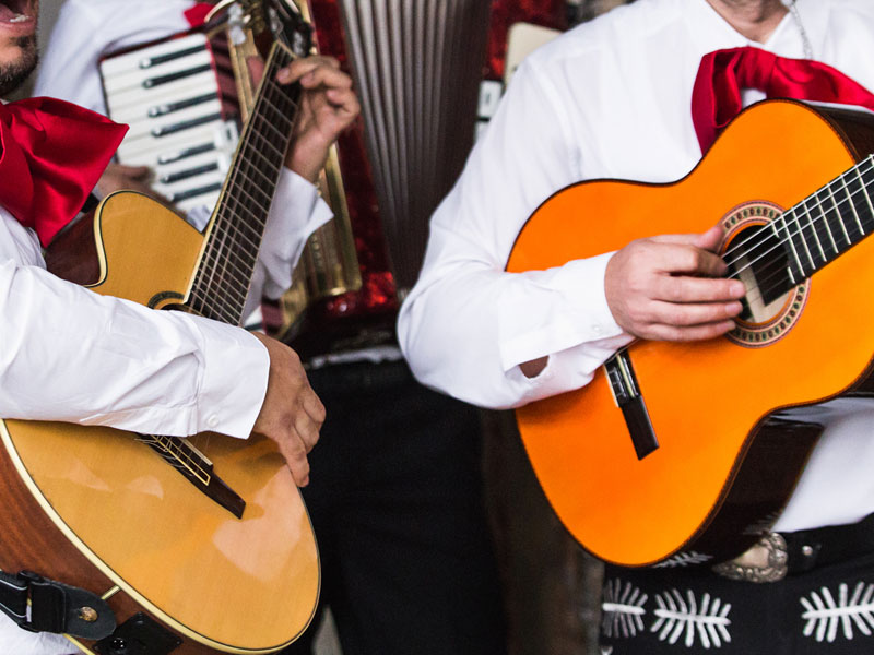 Typical Mariachi Band That Can Be Seen at Salsas