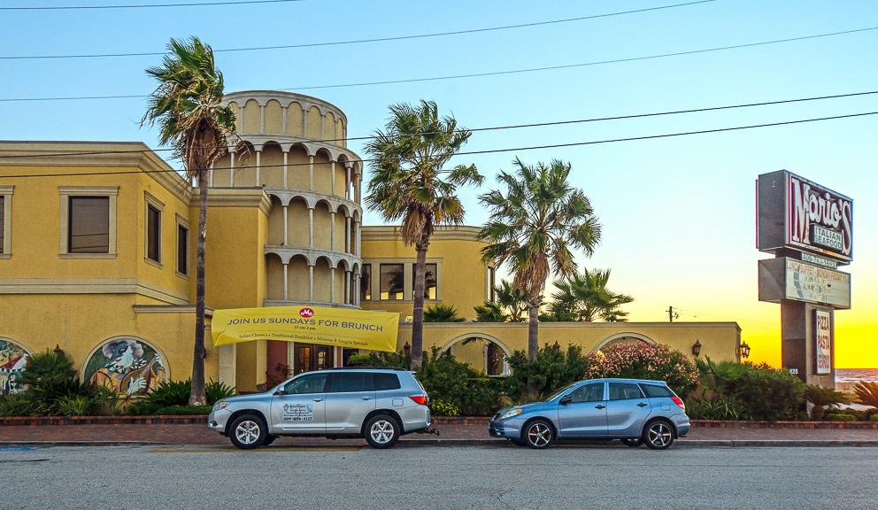 Marios Seawall Italian Restaurant, Galveston TX