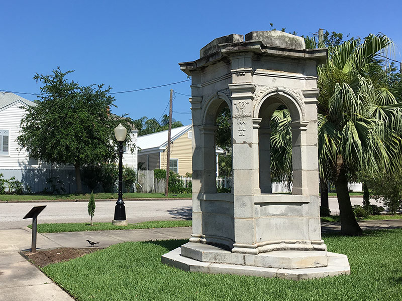 Rosenberg Fountain at Ball and 15th Street