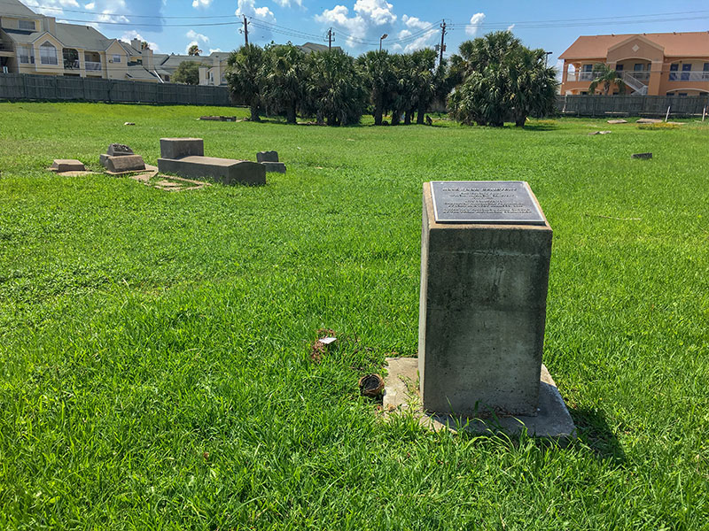Rosewood Cemetery Historical Marker 2