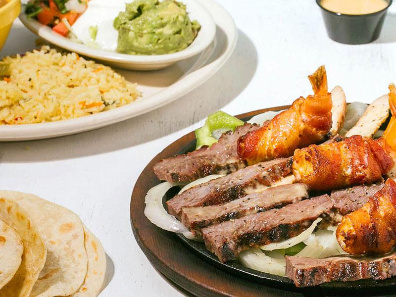 Sample Tex-Mex Meal at Tortuga Mexican Kitchen