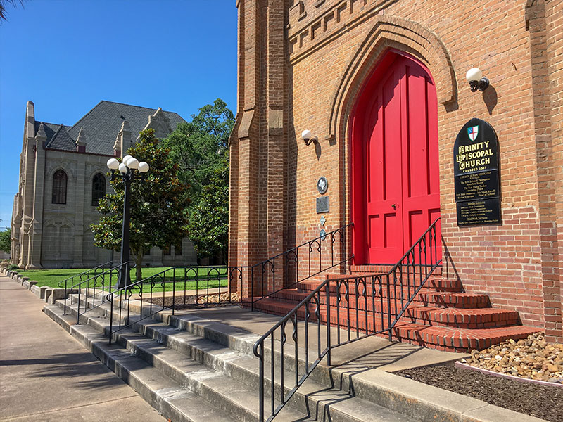 Trinity Protestant Episcopal Church Historical Marker