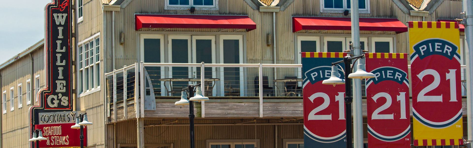 Willie G's Seafood & Steaks, Galveston TX