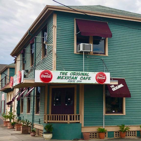 The Original Mexican Cafe, Galveston TX