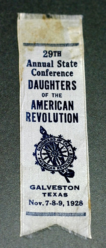 Daughters of the American Revolution-Ribbon
