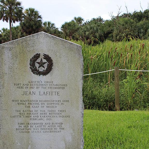 Lafitte's Grove Historical Marker
