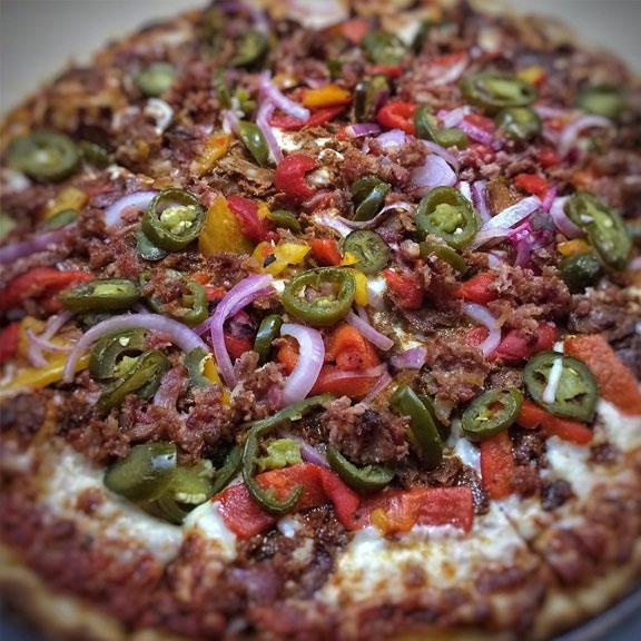 Mama Teresa's Flying Pizza, Galveston TX