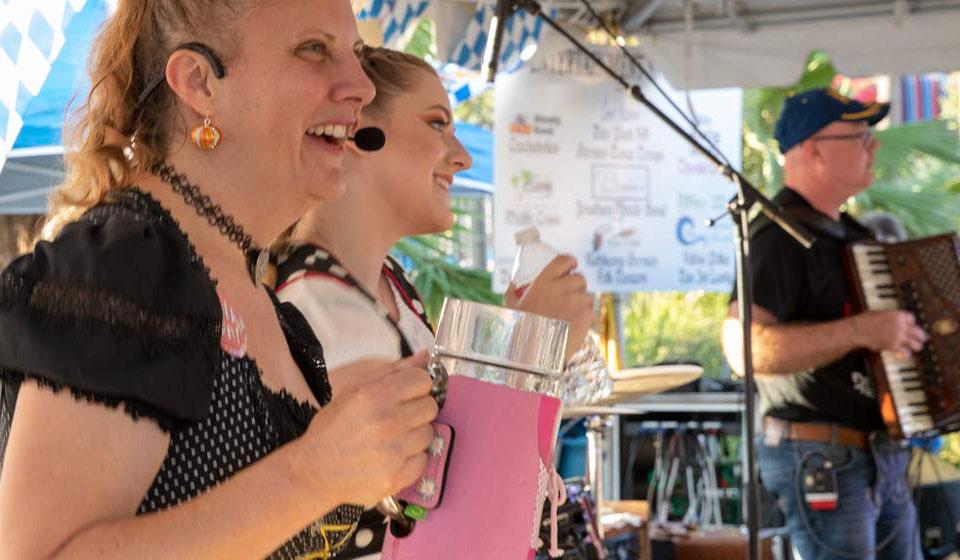 Beer & Music at Oktoberfest