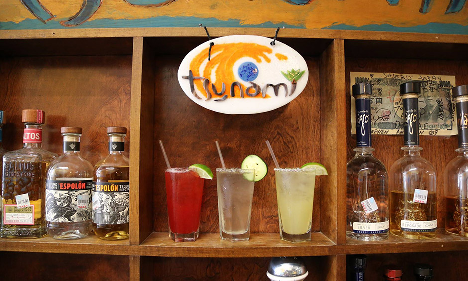 Tequila and drinks at Tsunami - 940
