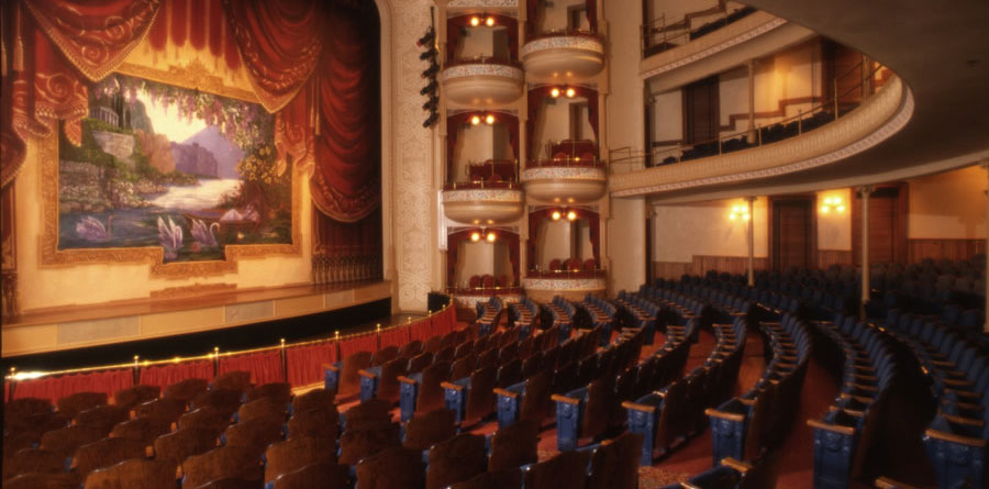 Interior of The Grand 1894 Opera House