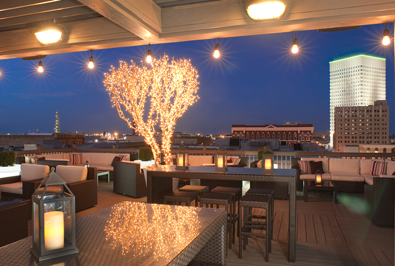 Tremont House Roof Top Bar